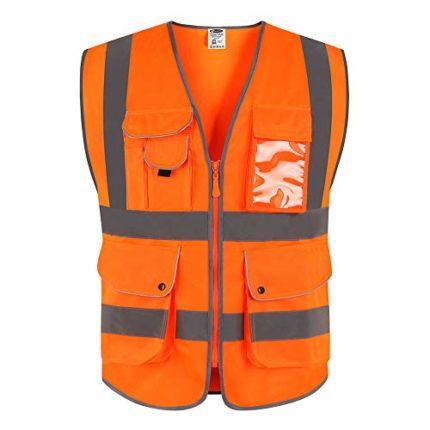 gilet sécurité orange ▷ Avis - TOP produit du mois 12